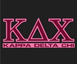Kappa Delta Chi Standard Decal 2 Color